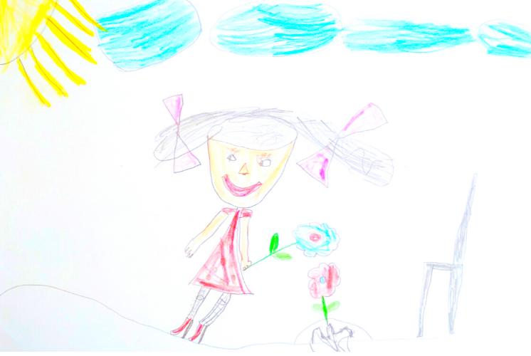 вопросы детскому психологу рисует черным